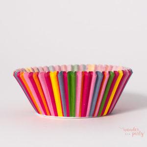 Capsulas para cupcakes varios colores