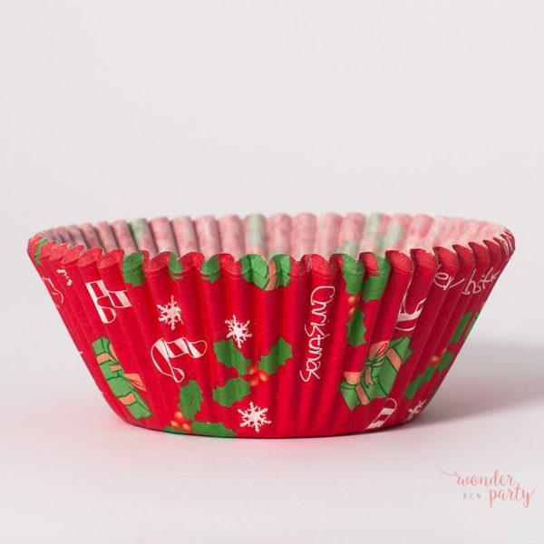 Cápsulas para cupcakes de Navidad