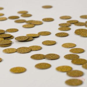 confetti dorado glitter