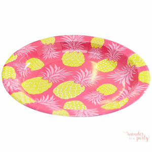 platos de papel summer fruits frutas verano