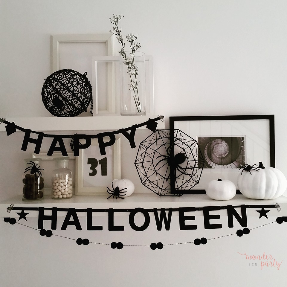 Ideas para decorar y organizar fiestas en Halloween