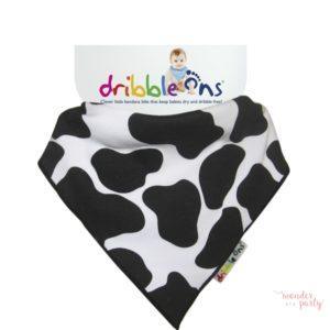 Babero Bandana Dribble Ons cow