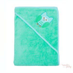 Toalla capa de baño