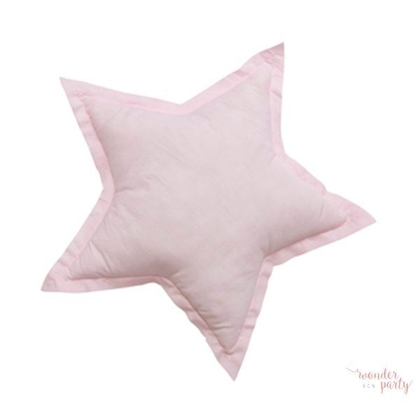 Cojín Miniroom estrella rosa