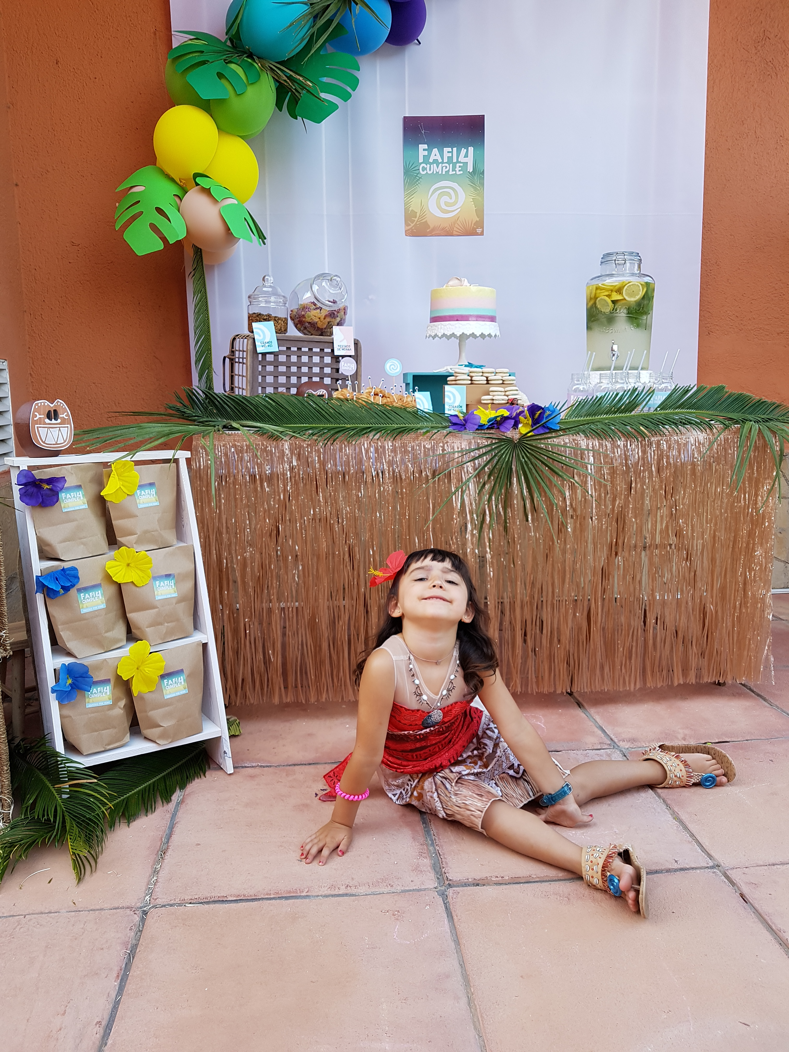 Inspiracion fiesta Vaina party inspiration moana party cumpleñaos Vaiana wonder party barcelona fiestas tematicas