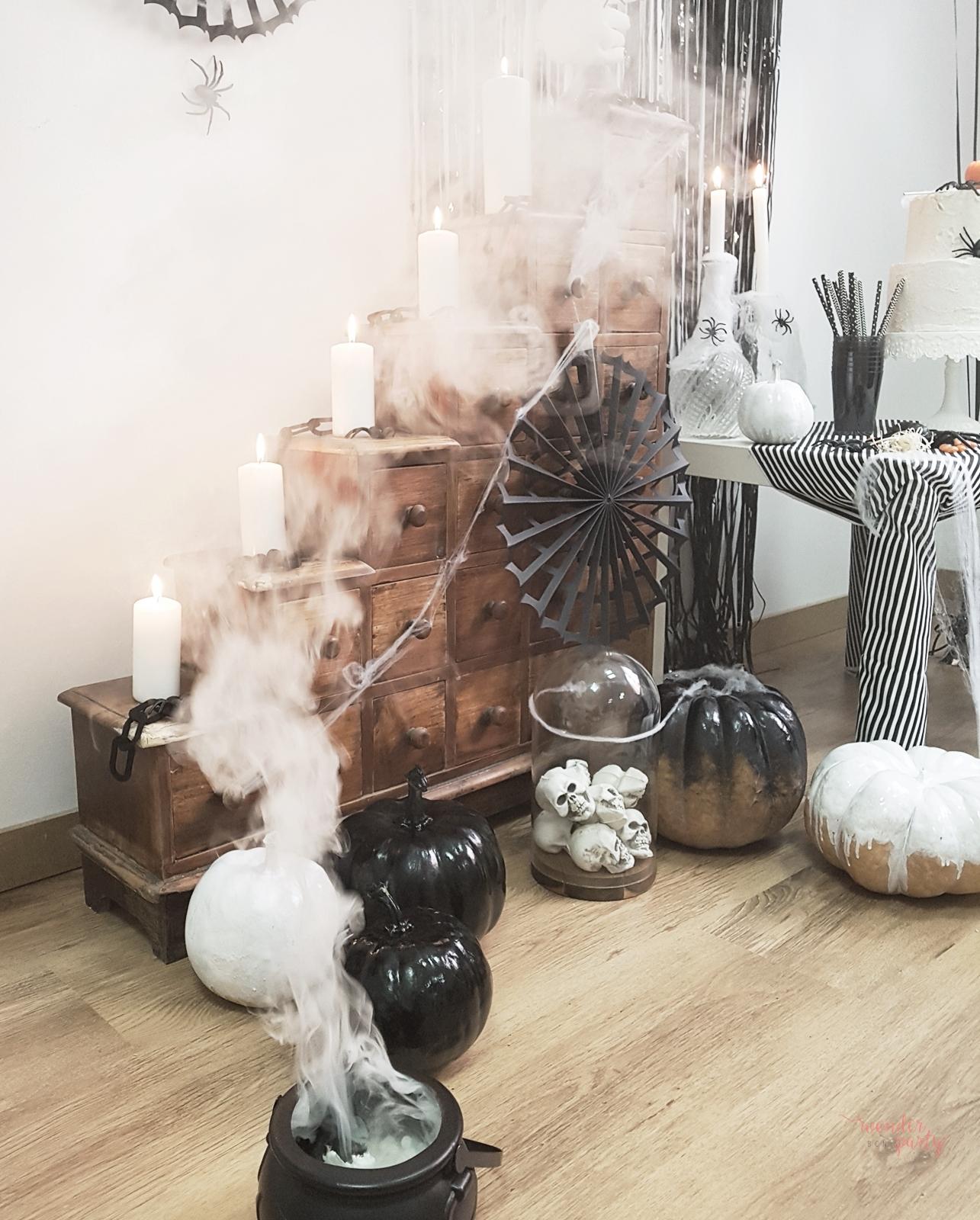 Halloboo party inspiración para halloween fiestas y productos para fiestas temáticas en barcelona para familias únicas Wonder Party Bcn DIY para fiesta de halooween disfrcaes para niños