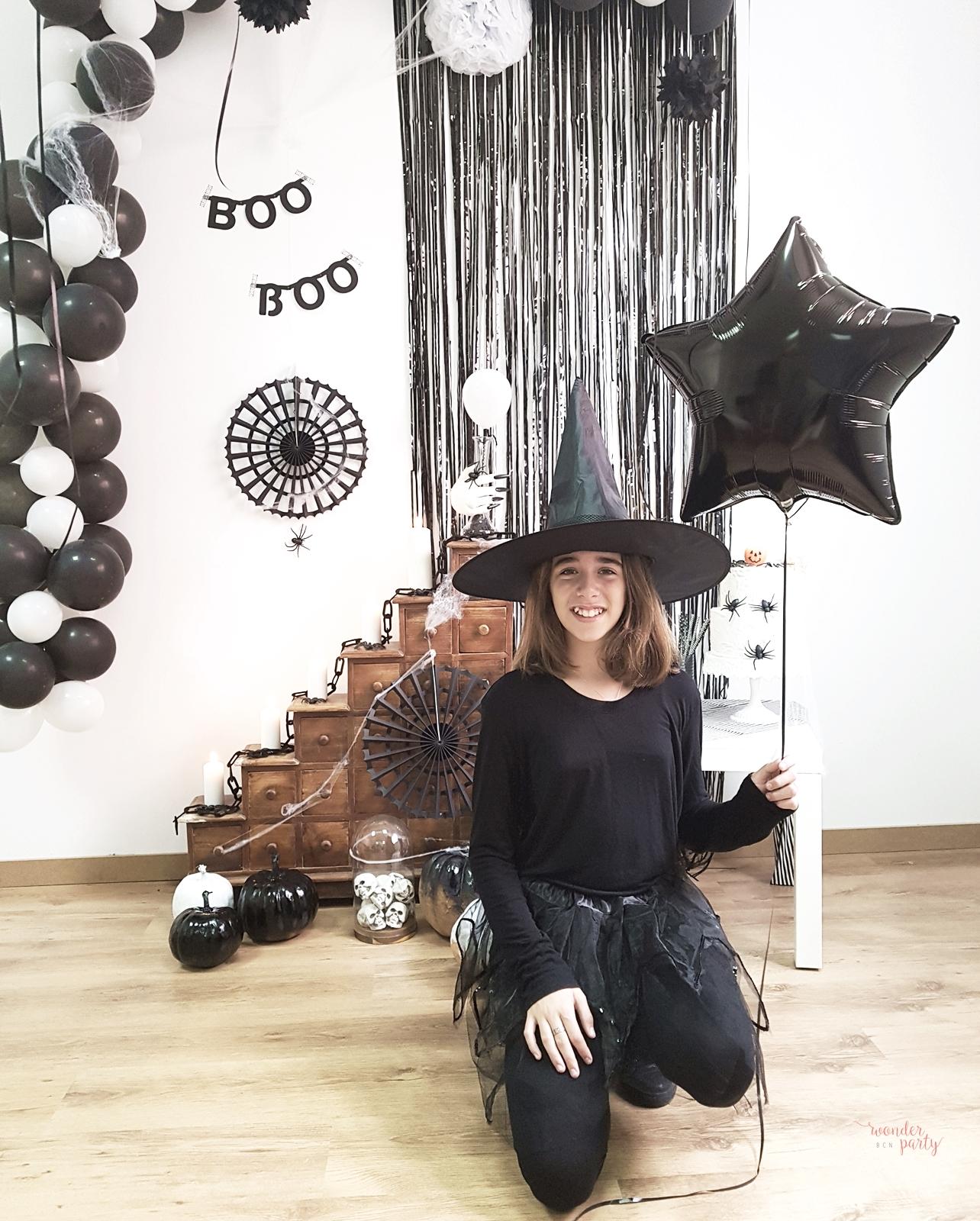 Halloboo party inspiración para halloween fiestas y productos para fiestas temáticas en barcelona para familias únicas Wonder Party Bcn DIY para fiesta de halooween