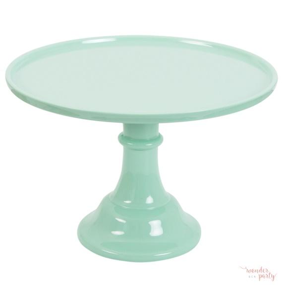 Stand para pastel o cupcakes verde mint. Con esta base, soporte, para pasteles, tartas o cupckes tus decos se verán geniales, y podrás jugar con las alturas de la mesa. Wonder party bcn Pineda de mar. Pie para pasteles