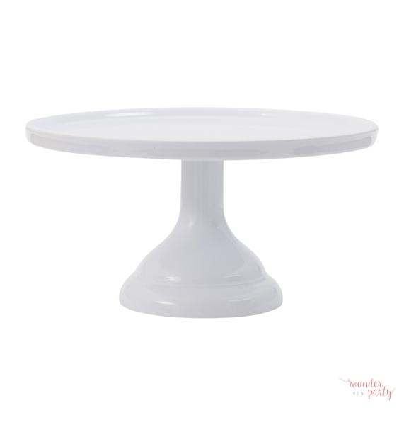 Stand para pastel o cupcakes blanco