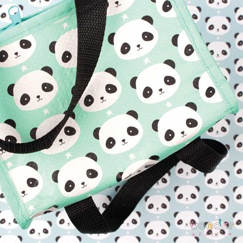 Bolsa térmica para merienda Panda
