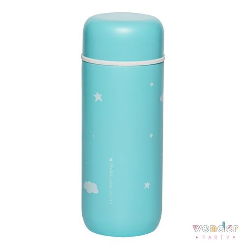Botella de acero inoxidable térmica nube para niños, para llevar de paseo o al cole. Mantiene la bebida fría y caliente por 12 horas