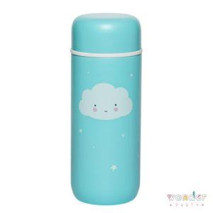 Botella de acero inox térmica nube