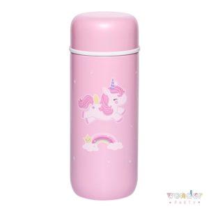 Botella de acero inox térmica unicornio