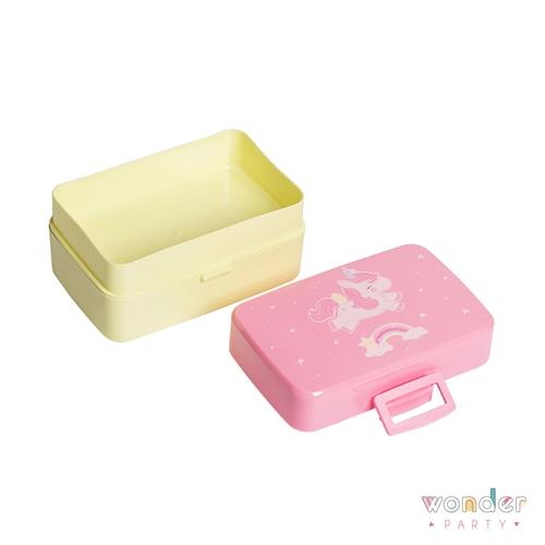 Fiambrera para almuerzo niños Unicornio lonchera, caja para almuerzo. Regalos para niñas unicorn lover