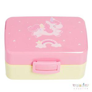 Fiambrera para almuerzo niños Unicornio