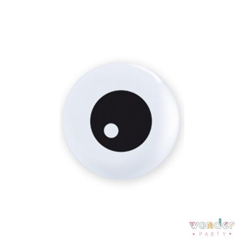 Globo látex ojo terrorífico mini