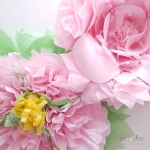 taller flores de papel