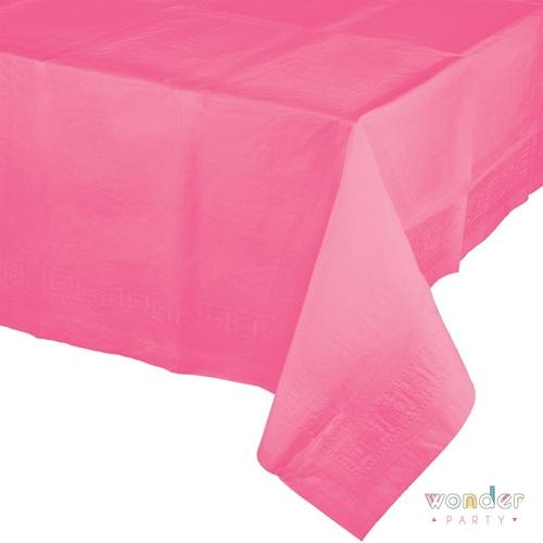 Mantel de papel pequeño rosa