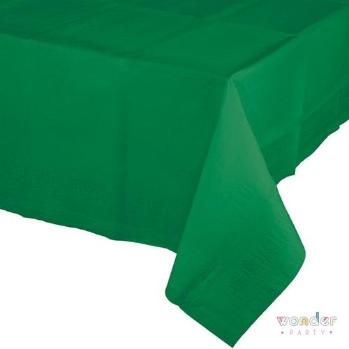 Mantel de papel grande verde