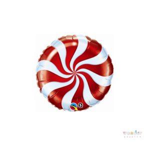 Globo foil candy rojo