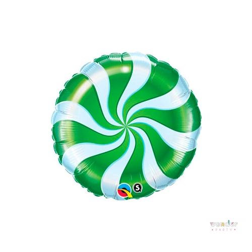Globo foil candy verde