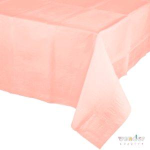 Mantel de papel grande rosa pastel