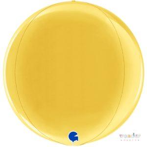 Globo Orbit esfera dorado