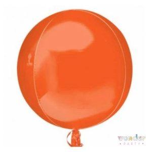 Globo Orbit esfera naranja