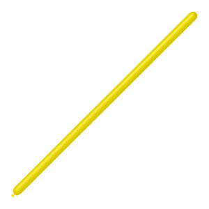 Globo modelar látex amarillo 260