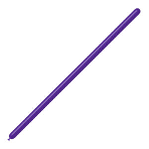 Globo Modelar Púrpura Sólido Wonder Party