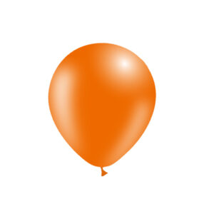 Globo naranja látex biodegradable wonder party bcn