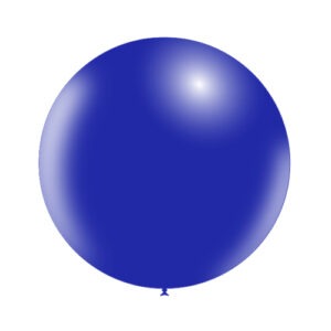 Globo de Látex Gigante azul Marino Sólido Wonder Party