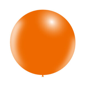 Globo gigante naranja wonder party bcn