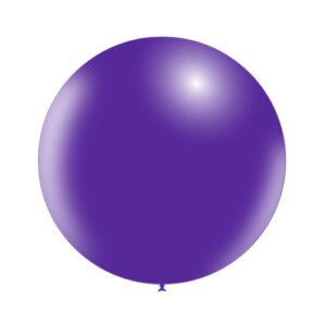 Globo Gigante de Látex Púrpura Sólido Wonder Party