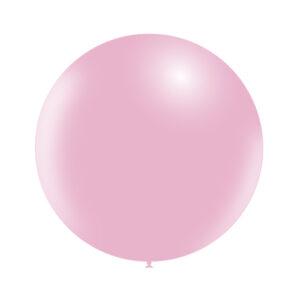 Globo Gigante Baby Pink Wonder Party de látex