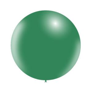 Globo de Látex Gigante Verde bosque Sólido Wonder Party