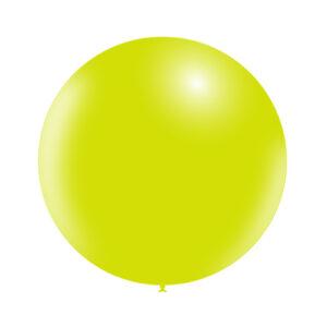 Globo gigante verde lima sólido