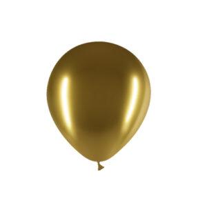 Globo látex brilliant dorado Oro Wonder Party