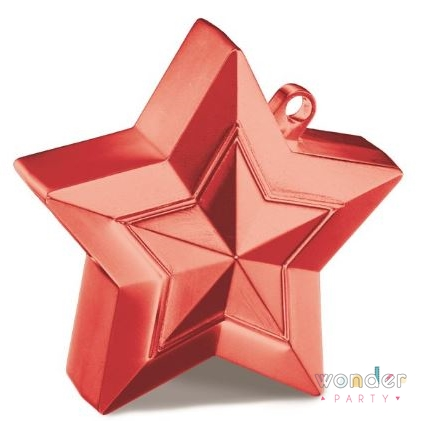 peso estrella roja wonder party bcn Helio para globos