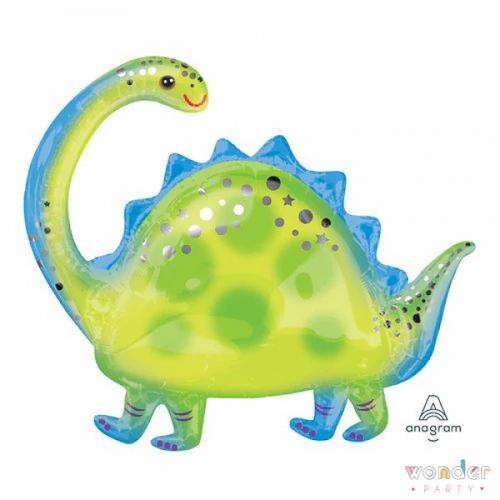 Globo Foil Brontosaurio Dinosaurio Foil 32-81-Wonder Party Bcn Costa brava, Maresme, fiesta