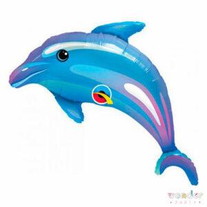 Globo Foil Delfin Grande 42-107-Wonder Party Bcn, costa brava, maresme, fiesta