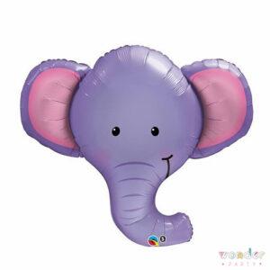 Globo Foil Elefante, Maresme, Costa Brava, Wonder Party Bcn