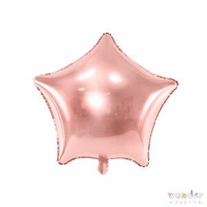 Globo Foil Estrella oro rosa, Balloon, Barcelona, Celebraciones, Cumpleaños, Decoracion, estrella, Eventos, Fiesta, Foil, Girona, Globo, Helio, Maresme, Party, Wonder, oro rosa