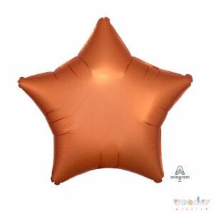 Globo Foil Estrella satín cobre, Balloon, Barcelona, Celebraciones, Cumpleaños, Decoracion, estrella, Eventos, Fiesta, Foil, Girona, Globo, Helio, Maresme, cobre, Party, Wonder