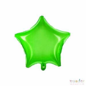 Globo Foil Estrella verde, Balloon, Barcelona, Celebraciones, Cumpleaños, Decoracion, estrella, Eventos, Fiesta, Foil, Girona, Globo, Helio, Maresme, Party, Wonder, verde