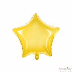 Globo Foil Estrella amarilla, Balloon, Barcelona, Celebraciones, Cumpleaños, Decoracion, estrella, Eventos, Fiesta, Foil, Girona, Globo, Helio, Maresme, Party, Wonder, amarillo