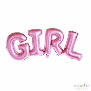 Globo Foil Girl Rosa, Balloon, Barcelona, Celebraciones, Cumpleaños, Decoracion, estrella, Eventos, Fiesta, Foil, Girona, Globo, Helio, Maresme, Party, Girl, Wonder, costa brava