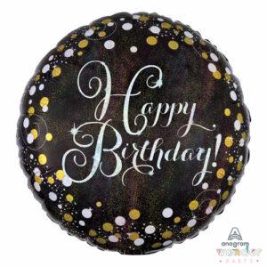 Globo Foil Happy Birthday Burbujeante, Balloon, Barcelona, Celebraciones, Cumpleaños, Decoracion, Eventos, Fiesta, Foil, Girona, Globo, Helio, Maresme, Party, Wonder, happy birthday