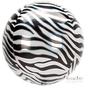 Balloon, Barcelona, Celebraciones, Cumpleaños, Decoracion, Orbz, Eventos, Fiesta, Foil, Globo, Helio, Maresme, Party, Wonder, cebra, zebra, animal print
