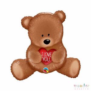 Balloon, Barcelona, Celebraciones, Cumpleaños, Decoracion, Eventos, Fiesta, Foil, Globo, Helio, i love you, little bear, Maresme, osito, Party, te amo, Wonder